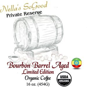 Bourbon Barrel Aged Organic Coffee