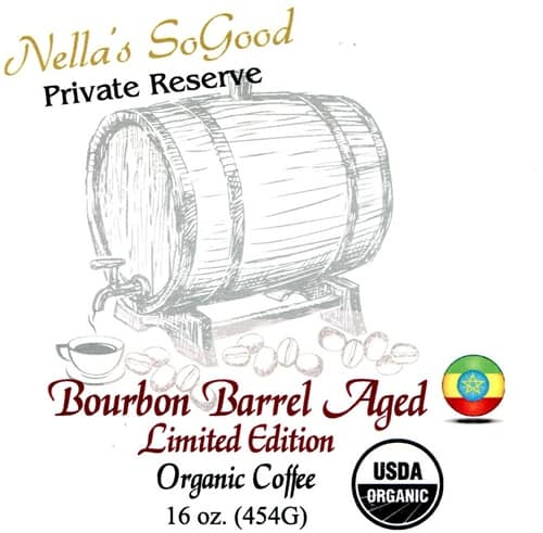 Bourbon Barrel Aged Organic Coffee