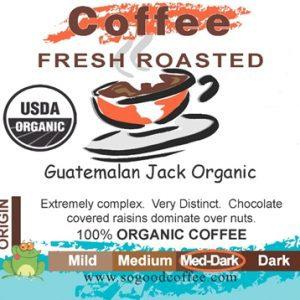 Guatemalan Jack Organic Coffee