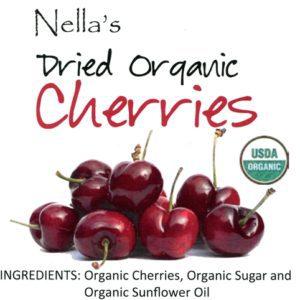 Premium Dried Organic Cherries