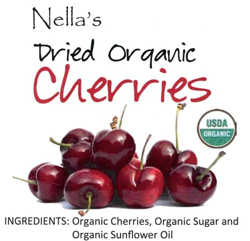 Premium Dried Organic Cherries
