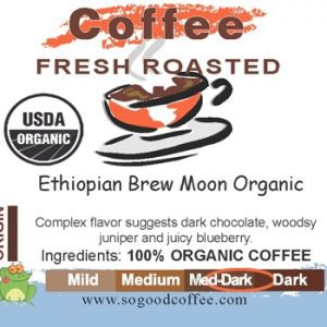 Ethiopian Brew Moon Organic Coffee