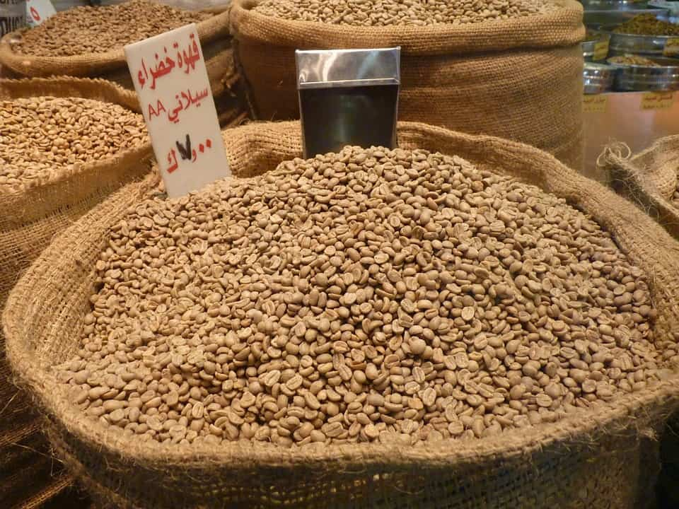 Organic Coffee Beans From Jordan