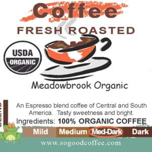 Meadowbrook Organic Coffee