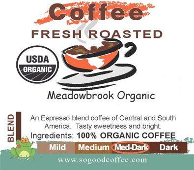 Meadowbrook Organic Coffee