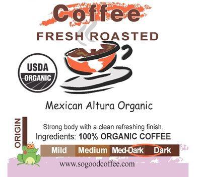 Mexican Altura Organic Coffee