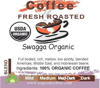 Swagga Blend Organic Coffee