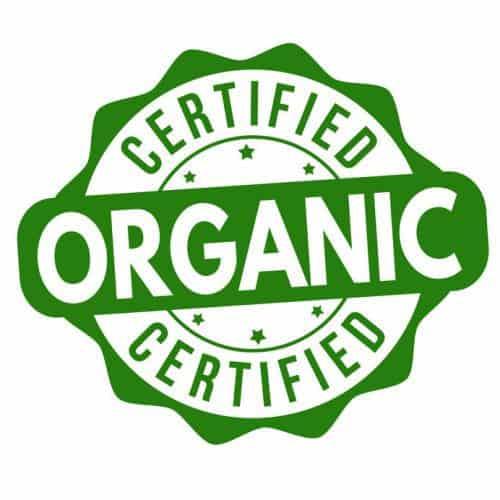 Certified Organic Stamp