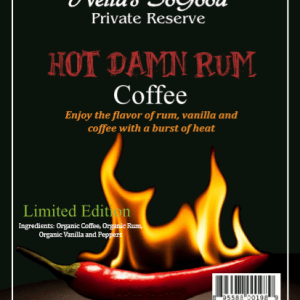 Hot Damn Rum Coffee