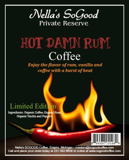 Hot Damn Rum Coffee