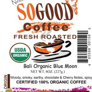 Bali Organic Blue Moon Coffee