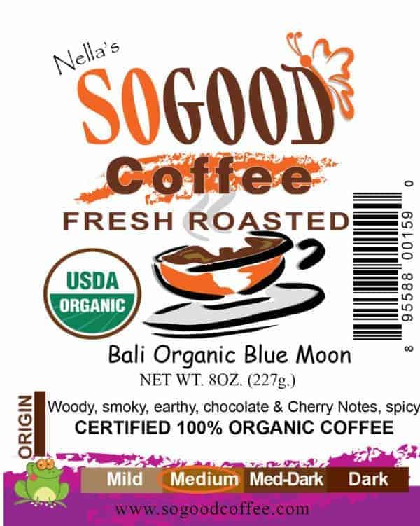 Bali Organic Blue Moon Coffee