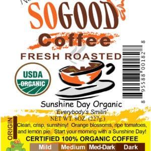 Sunshine Day Organic Coffee