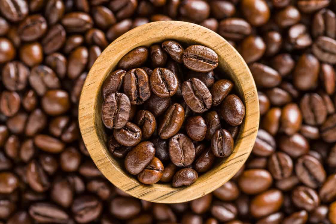 Roasted Organic Colombian Coffee Beans