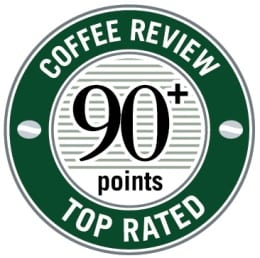 coffee review 90 rating